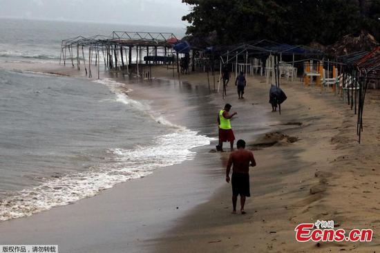 Storm Lorena threatens to dump heavy rain on Mexican Pacific resorts