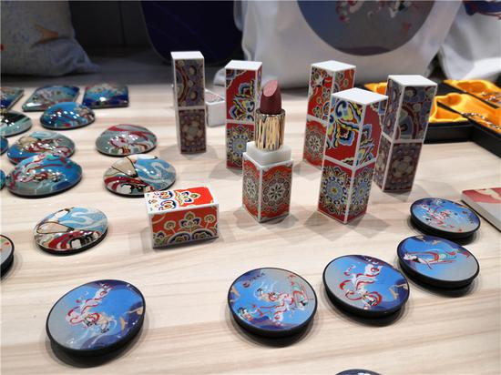 Dunhuang inspires new range of cultural products