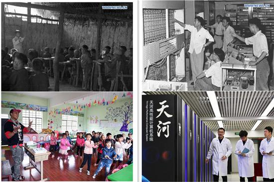 Different occupations in China see profound changes in past 70 years