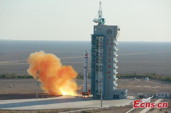 China launches new satellite for environment detection